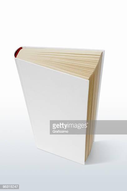 Livro em branco em cima