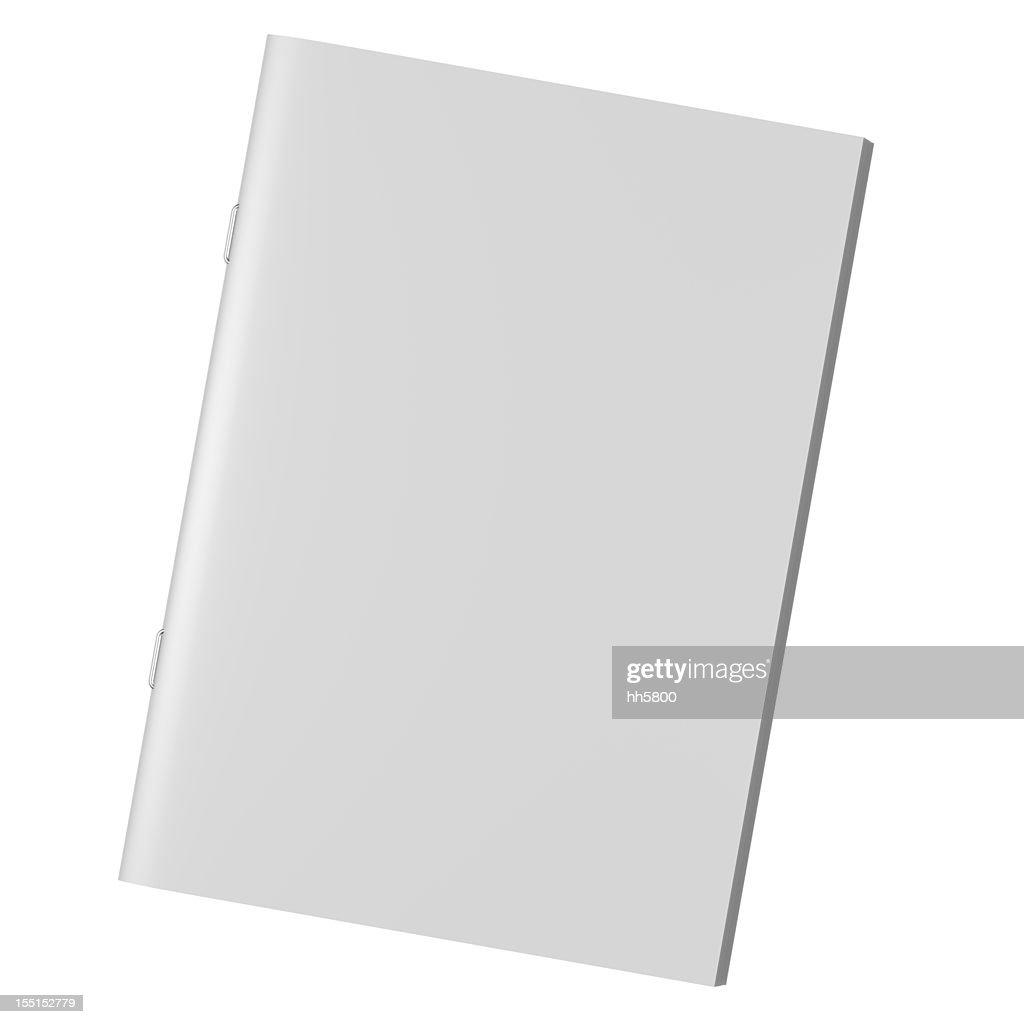 Blank book Magazine Brochure