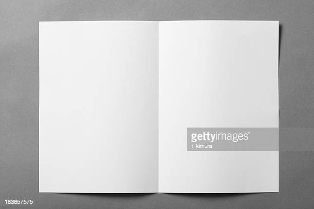 Blank booklet