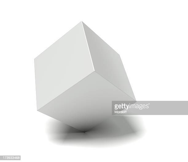 Casella vuota su bianco