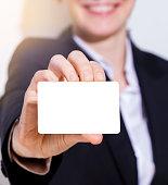 Business Card, Placard, Human Hand, Message, Paper