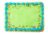 Blank Cake - Add your own writting or message
