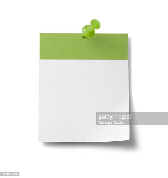 Blank calendar page - green
