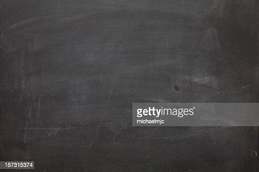 Blank chalkboard.