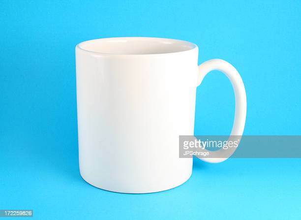 Blank Coffee Mug - Easy to Clip!