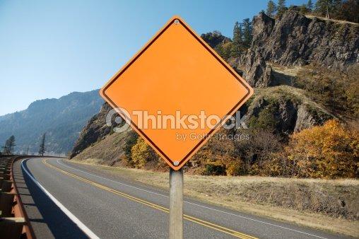 blank construction traffic sign stock photo thinkstock