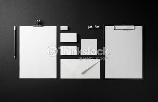 Blank corporate identity : Stock Photo