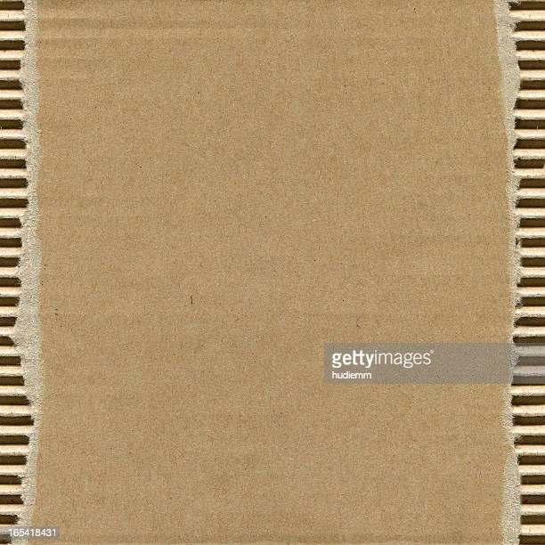 Fond de texture en Carton ondulé