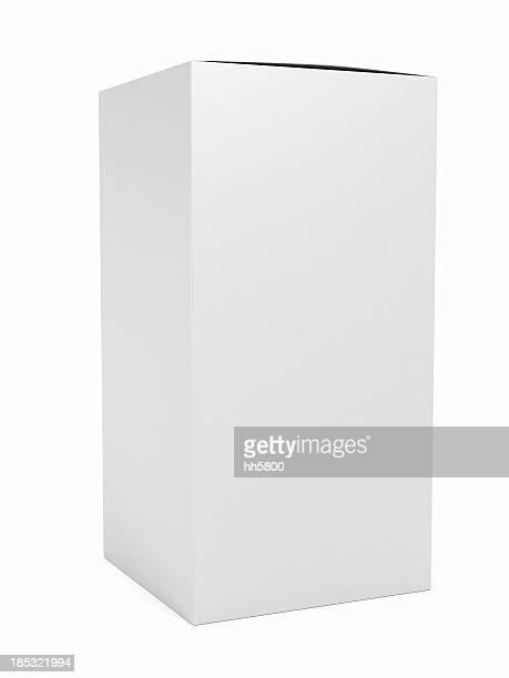 Blank cosmetic box