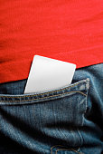 Branco cartão de crédito