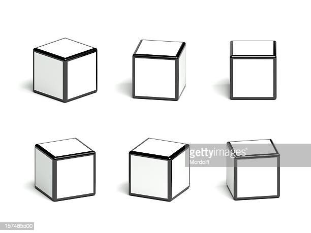 Blank cubes collection
