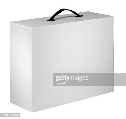 Blank device packing cardboard box