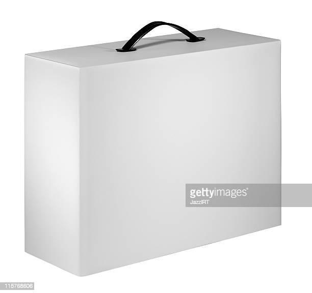 Dispositivo blanco envasado en caja de cartón