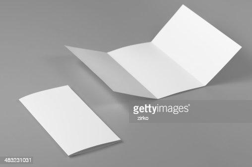 空白のマイレージプログラム、6 ページ、手紙折り返し(c-fold