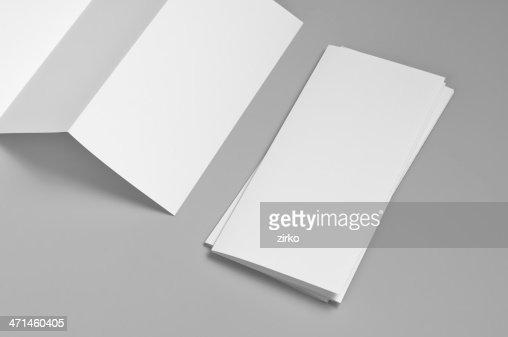 空白のマイレージプログラム、6 ページ、Z-fold (アコーディオン