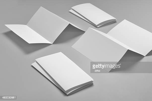 Blank flyer, 6-page. Z-fold (Accordion)