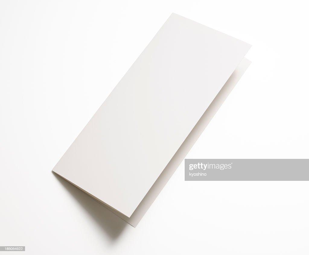 Blank Folded Paper