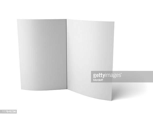 Blank folder with scoring