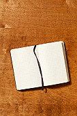Blank Graph Paper Notebook
