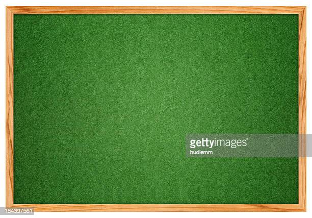 Leere grüne Corkboard (XXXL Clipping Path!