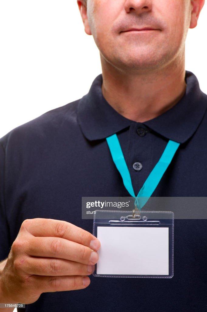 blank id man