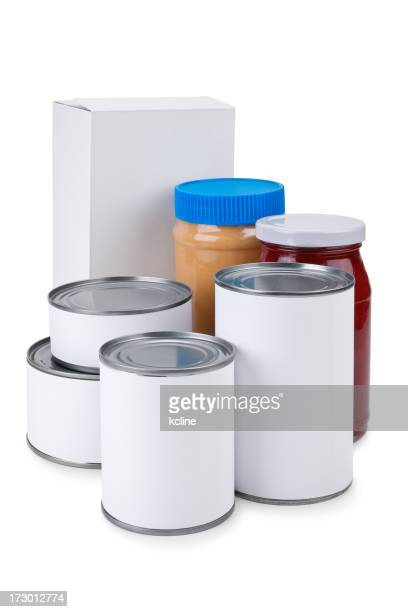 Blank Label Food Drive