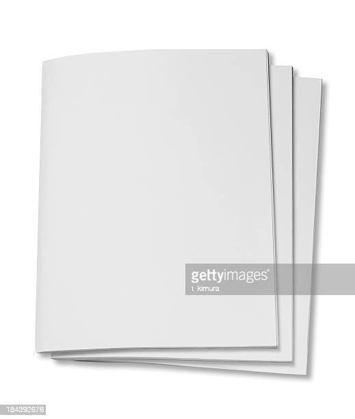 Blank magazine