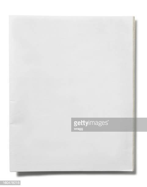 Blank Newspaper