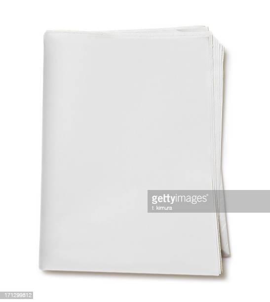 空白の新聞