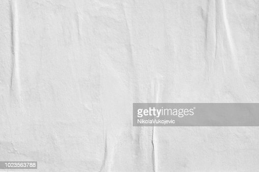 Blank old ripped torn paper crumpled creased posters grunge textures backdrop backgrounds : Stock Photo