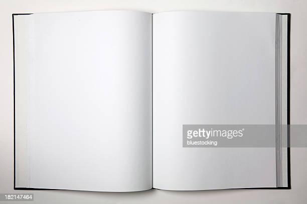 Leere offenes Buch