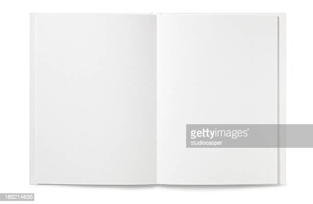 Vazio Livro aberto