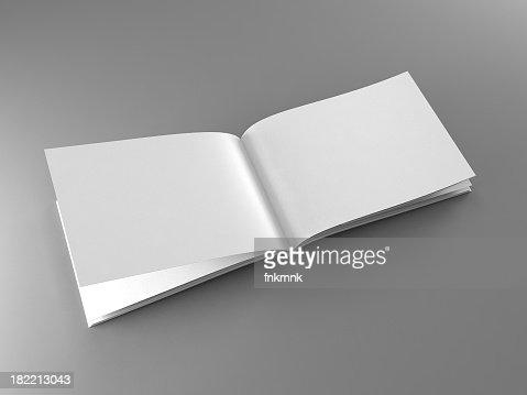 A blank open catalogue template