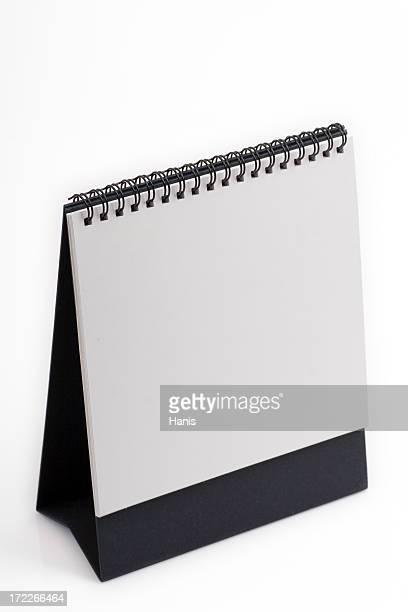 Blank page calendar