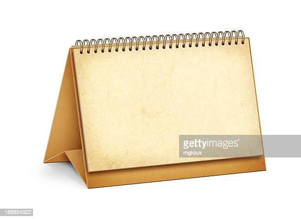 Blank Page Desktop Calendar