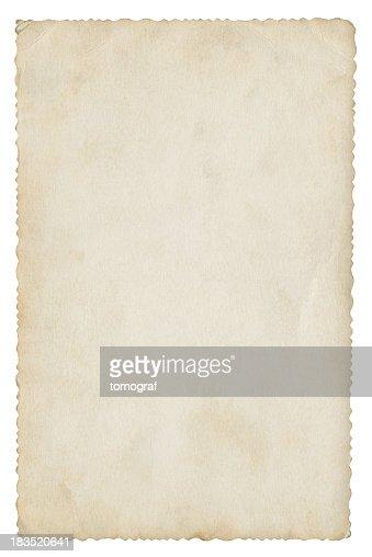 ブランク紙製絶縁(クリッピングパスが含まれています)