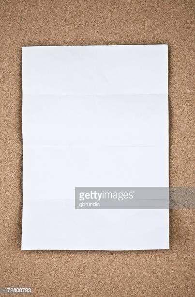 Papier sur cork