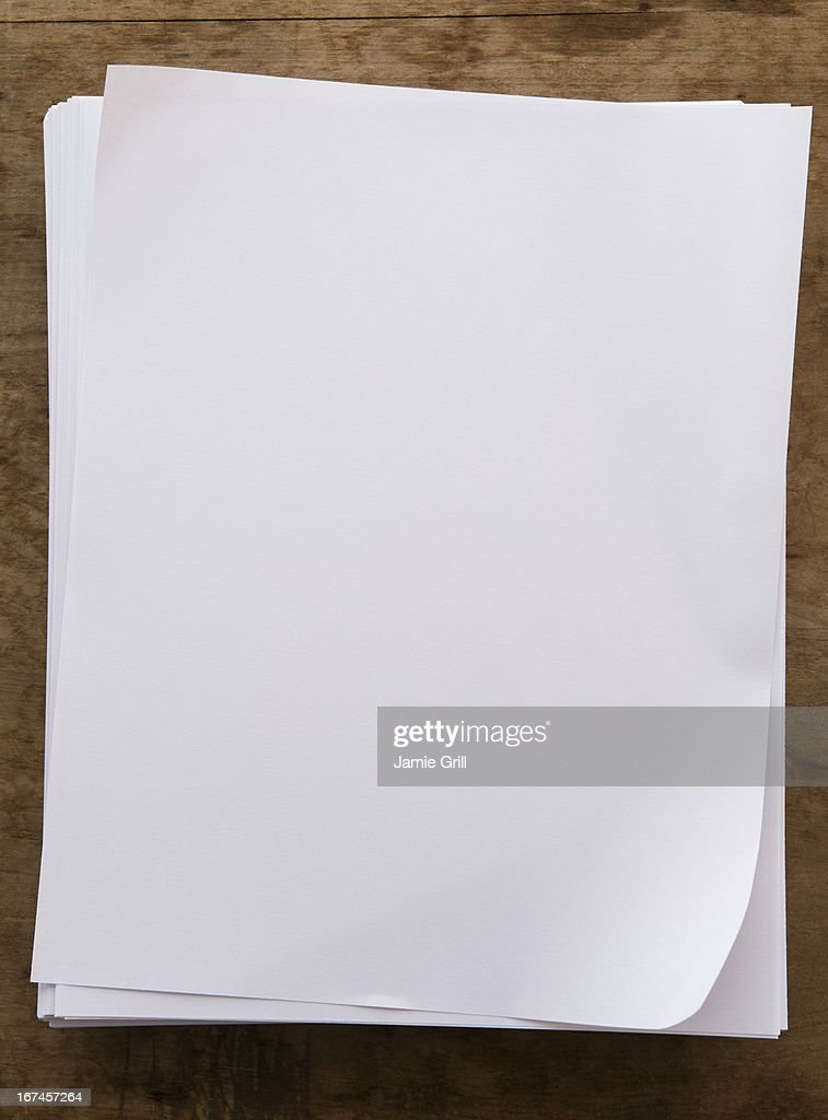 Blank paper pages : Stock Photo