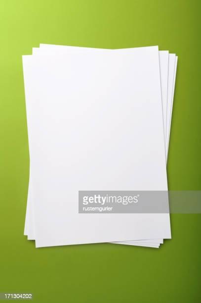 Leere Papier