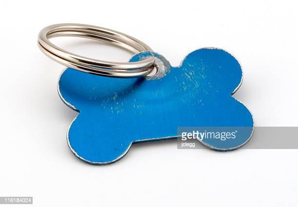 Blank Pet ID tag
