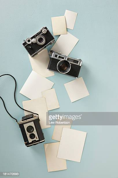 Blank photographs and cameras
