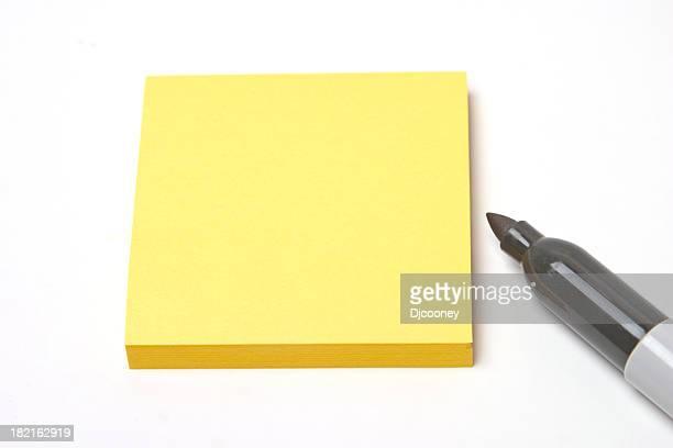 Blank Post It Note