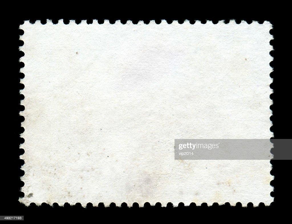 Blank postage stamp background