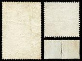 Blank postage stamp texture (XXXL)