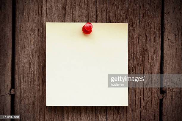 Blank post-it note background textured