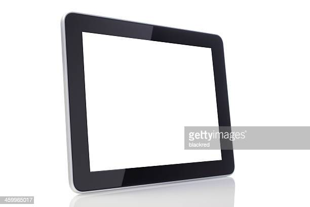 Blank Screen Tablet with Clipping Path