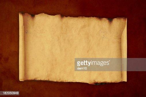 Blank Scroll