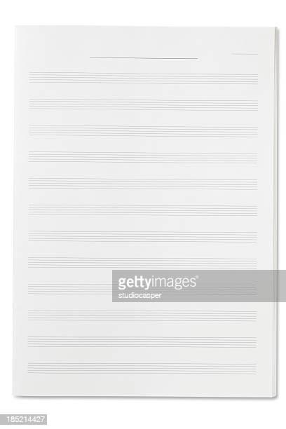 空白のシートの音楽