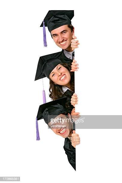 Vuoto segno-Graduates (in bianco