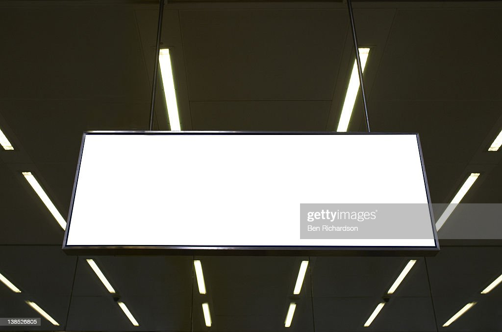 A blank sign : Stock Photo
